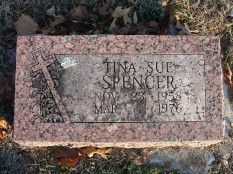 Tina Sue Spencer headstona